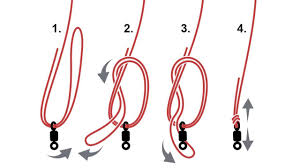 How to tie a Palomar fishing knot