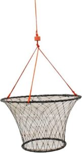 KUFA rubber wrapped steel ring crab trap